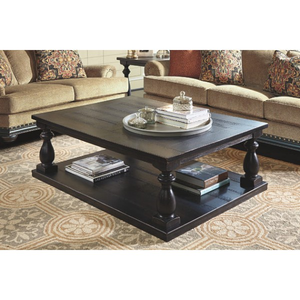 Black-wood coffee table
