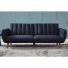 Blue Divider Sofa Bed