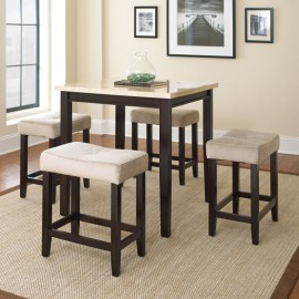 Chocó-Wood 5 Piece Counter Height Dining Set