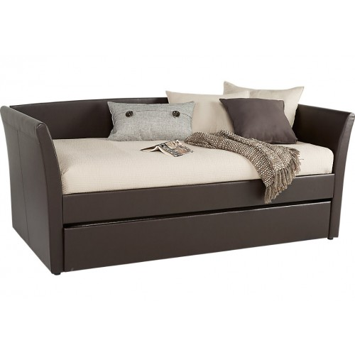 Rock wood Brown Daybed
