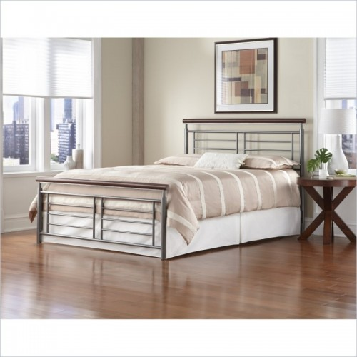 Cherry-metal bed