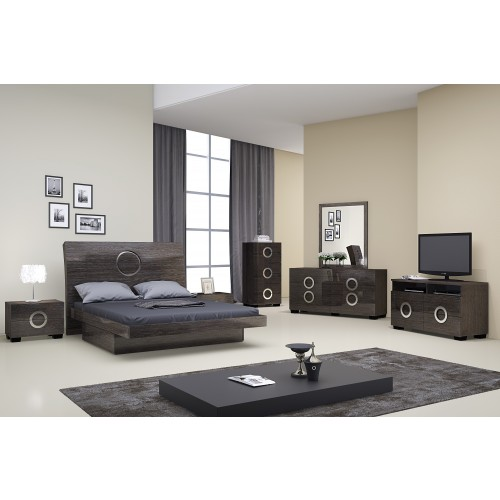 Bedroom Set Collection in Gray