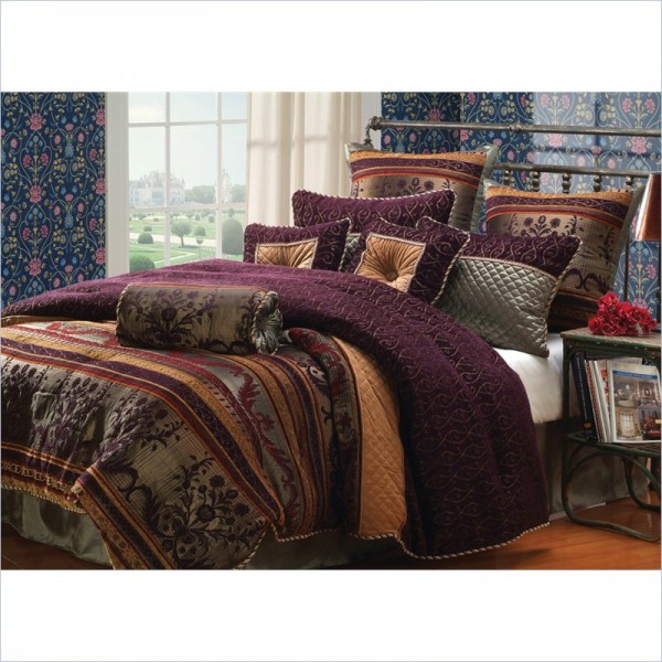 Hallmart Collectibles - Petra - Comforter Set